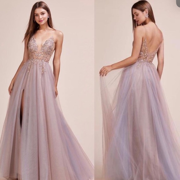 andrea and leo couture dress A0672